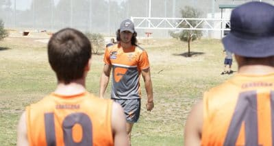Local Penrith product Jake Stein visit as the Giants Punt on troubled teens with quinn elite sports